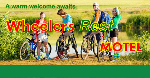 MOTEL Wheelers Rest A warm welcome awaits